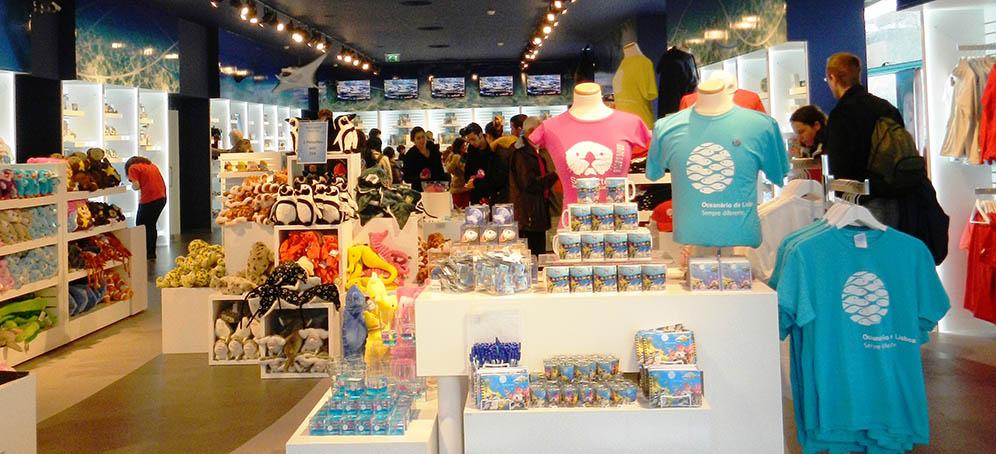 Gift shops plan your visit visit oceanrio de lisboa gift shops negle Images